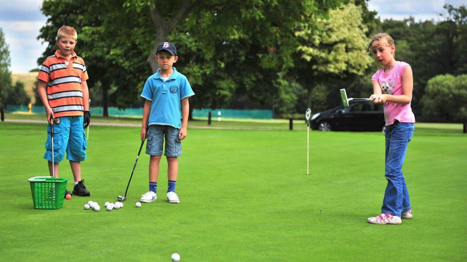 Kids Golf Welwyn Garden City
