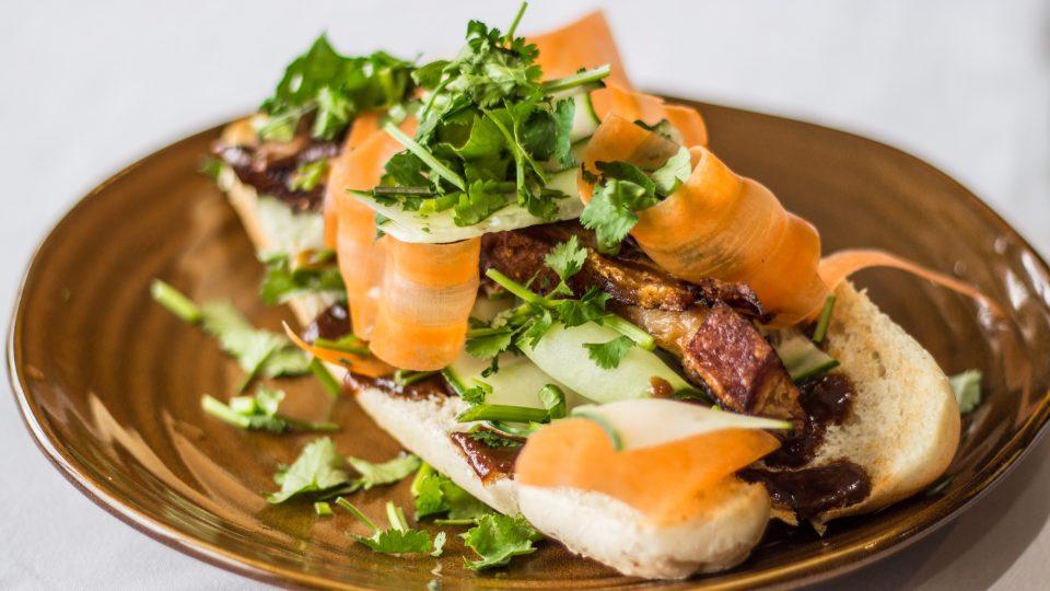 pork belly baguette