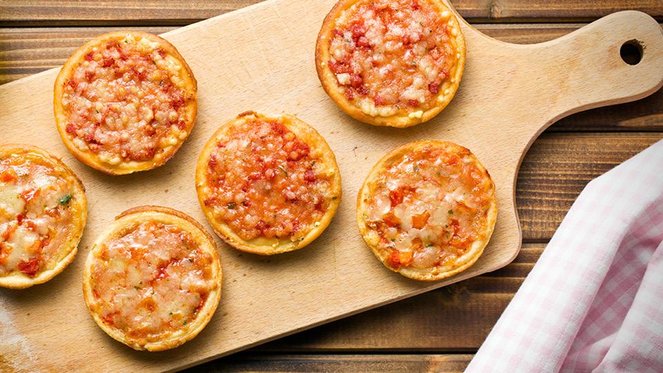 Toptracer Kids Menu Mini Pizzas